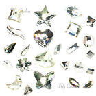 "Swarovski Flatbacks No-Hotfix Rhinestones clear CRYSTAL (001) ""Pick Your Shape"""