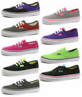 VANS AUTHENTIC Unisex Menor Zapatillas Tenis/Zapatillas Todas Las Tallas Y