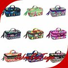 NWT VERA BRADLEY QUILTED JEWELRY TRAVEL CASE BAG HOLDER FLORAL
