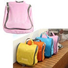 Womens Hanging Hook Toiletry Wash Shower Bag Organizer Kit Travel Sports Cycling