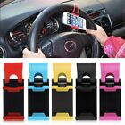 Car Steering Wheel Mount Holder Rubber Band For iPhone iPod Smart MP4 Phone GPS