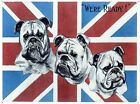 New British Bulldogs We're Ready! Tin Sign