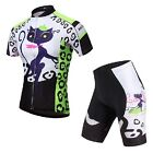 New Women's Short Sleeve Cycling Clothing Bike Bicycle Jersey & Pant/Short Sets