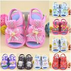 Baby Girls Boys Summer Cloth Sandals Toddler Soft Open Toe Satin Slippers Shoes