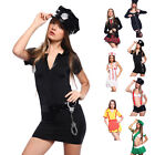 Role Play Ladies Womens Fancy Dress Up Outfit Adult Sexy Hen Night Party UK 4-18