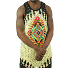 Moss New York Men's Throne Aztec Tank Top Shirt