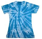 Sublimation T-Shirt Turquoise 100% Polyester Short Sleeve Kylie Women S - 2XL