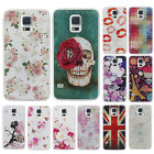 New Printed Patterns Hard Back Case Cover For Samsung Galaxy S3 S4 S5 Note 3 4