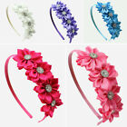Summer Kids Baby Girl Toddler Infant Flower Headband Hair Bow Band Accessories