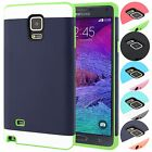 Vivid Hybrid TPU Slim Fit 2PC Ultra Thin Case Cover For Samsung Galaxy Note 4 IV