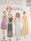 Misses Dress Overdress Sewing Pattern Darts Ties Slits Binding 2 Hour 8808