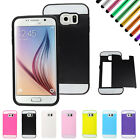 For Samsung Galaxy S6 G9200 Hybrid Credit Card Protective Hard Case Cover EG4
