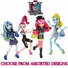 "Monster High 13 WISHES 11""  Fashion Dolls /w Pet - Assorted Designs"