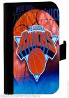 NEW YORK KNICKS SAMSUNG GALAXY iPHONE CELL PHONE CASE LEATHER COVER WALLET
