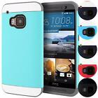 Vivid Hybrid TPU 2PC Slim Fit Ultra Thin Hard Case Cover Skin For HTC One M9