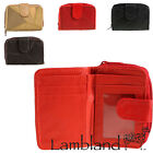 Lambland Ladies / Womens Small Compact Patch Leather Purse