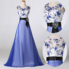 Vintage 50's Party Evening Ball Gown Wedding Formal Long Prom Bridesmaid Dress