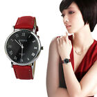 Womens Fashion Quartz Watch Lady Classic Leather Band Analog Wristwatch 2015 NEW