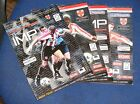 LINCOLN CITY HOME PROGRAMMES 1999-2000