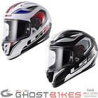 LS2 FF323 Arrow R Geo Motorcycle Helmet ECE Approved Pinlock Anti Scratch Crash