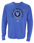 Adidas NBA Men's Dallas Mavericks Long Sleeve Thermal Shirt, Blue on eBay