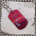 LITTLE BOYS CHILDRENS LIGHTNING MCQUEEN DISNEY CARS METAL DOG TAG NECKLACE.