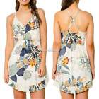New Women Summer Floral Flower Printed Dress Sexy Beach Sleeveless Sundress SH