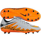 Nike Hyper Venom FG  Phelon II 2015 Soccer SHOES Gray / Orange KIDS - YOUTH