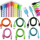 3M/10FT Hemp Rope Micro USB Charger Charging Sync Data Cable Cord Cell Phone