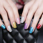 Lady's Glitter Foils Nail Stickers Decal Manicure Tips DIY Decoration Nail Art