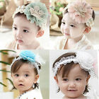 Baby Kid Girl Toddler Princess Lace Flower Headband Headwear Hair Band Accessory