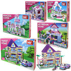 MY GIRLS PRINCESS DREAM HOME BLOCKS SET BUILDING KIDS CONSTRUCTION BRICKS TOYS