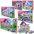 Girls Building Blocks Toys Bricks Princess Dream Home Set Kids Construction