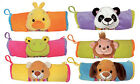 Cartoon Animal Plush Pencil Pouch Pen Case Bag Cosmetic Bag Frog Dog Duck Monkey
