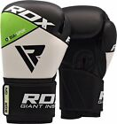 RDX Leather Boxing Gloves Fight Punch Bag MMA Muay thai Grappling Jab Pads FP