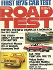 ROAD TEST MAGAZINE 1974 SEPT - ALFA ALFETTA GT, BRUBAKER, RX-4, BMW BAVARIA