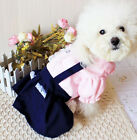 Pet puppy Hot sale  unlined upper garment of students dress sister Dogclothes 63
