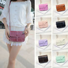 New Womens Shoulder Bag Faux Leather Satchel Handbag Casual Crossbody Tote Bags