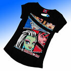 Girls Monster High T Tee Shirt Top Age 8-14 Years 0489