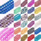 25/50PCS Czech Glass Loose Spacer Craft Beads 8mm For Necklace Bracelet Making