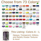 STAMPENDOUS Embossing Powder (COLORS A - L) opaque/detail/metallic/clear CHOOSE!