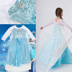 Beautiful Child Princess Dress Cape Costume Cosplay For Frozen Elsa Cinderella