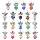 JP 1PC Handmade Guardian Angel Pendant Bead Wing Accessories Necklace 19 Colors