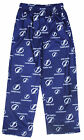 NHL Hockey Little Kids / Youth Tampa Bay Lightning Lounge Pajama Pants, Blue