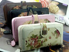 First-rate Flower Retro Long Lady Purse Women Faux Leather Wallet Gift Bag HF US