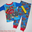 BLAZE AND THE MONSTER MACHINES 24 Mo 2T 3T 4T 5T Pjs Set PAJAMAS Shirt Pants