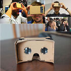 3D Cardboard Vr Virtual Reality Google Glasses with NFC Tag Head Mount DIY