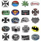 BBUM0341 MANY CASUAL STYLES LETTERS / OCCUPATIONAL / SUPERHERO ALLOY BELT BUCKLE
