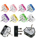 UK USB AC Mains Power Wall Home Charger Adapter Plug For Samsung Galaxy S4 S5 S6