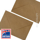 C6 Premium Brown Ribbed Kraft Envelopes 100gsm